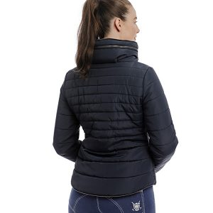 maya padded jacket back
