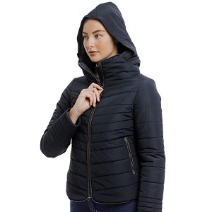 maya padded jacket with hood